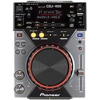 Pioneer CDJ-400 lector y grabador de CD - Unidad de CD (115 Db, 0,006%, 4-20000 Hz, CD, CD-R, CD-RW, MP3 CD, 1x RCA, DIGITAL, 19W)
