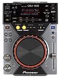 Pioneer CDJ-400 Digitales CD-Deck mit MP3 und USB Audio/USB-Steuerung, schwarz