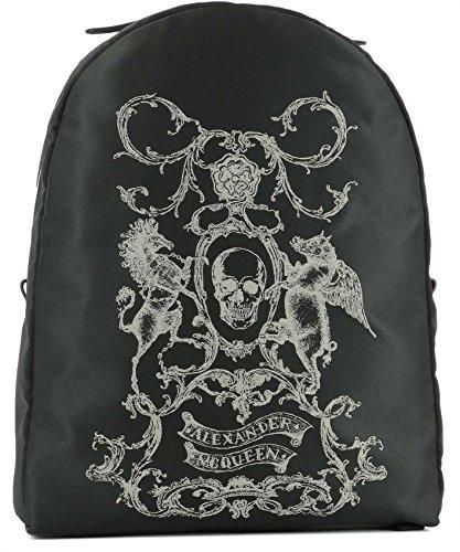 Alexander-Mcqueen-Mens-4536629CH1N1082-Black-Polyamide-Backpack