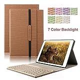 iPad 2 iPad 3 iPad 4 Tastiera Custodia, DINGRICH Tastiera Proteggi schermo HD + penna stilografica