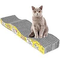 Woopower Tableau à chat, EN FORME pour animal domestique Chat Confort Scratch Grattoir Griffoir Pad Tapis de lit à herbe à chat jouet interactif