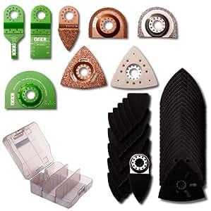 CEL MT1-AP05 Mallette d'accessoires pour ponçage/meulage/découpage (Import Grande Bretagne)