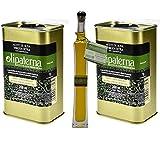 Olipaterna Olivenöl Kaltgepresstes Extra Virgin   Aus Andalusien   100% natürliches & reines Olivenöl für Feinschmecker   2 Stück 250 ml Kanister   100 ml Olipaterna Geschenk
