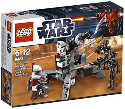 LEGO Star Wars 9488 - Elite Clone Trooper & Commando Droid Battle Pack por LEGO