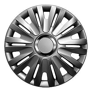 15 Zoll Radkappen Delta (Graphit) passend für Fast alle Fahrzeugtypen