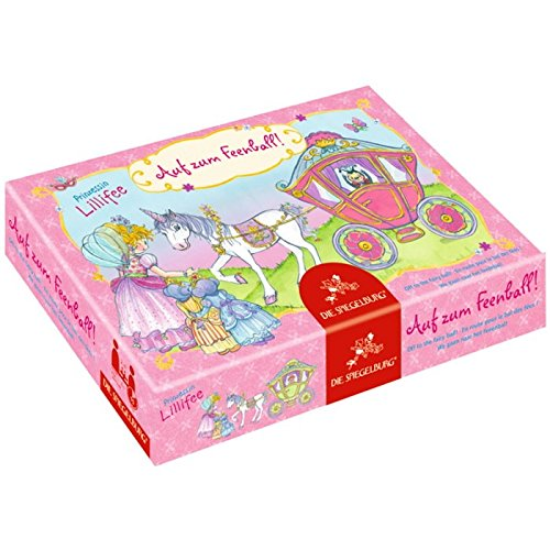 Prinzessin Lillifee Off to the Fairy bringen Ball Spiel, 7x 7cm, Modell # 11565