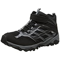 Merrell Ml-Boys Moab FST Mid a/C WTRPF High Rise Hiking Boots