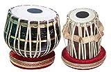 Vinayak Musical 3 KG Tabla Drum Set - Sheesham Wood Hand Made Black Brass Tabla Set Black Color - A Musical Instrument (Black)