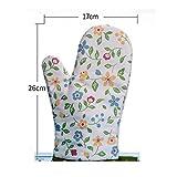 Guantes para hornear / anti-caliente aislamiento térmico grueso alta temperatura cocina hogar horno microondas guantes de horno 1 , #1
