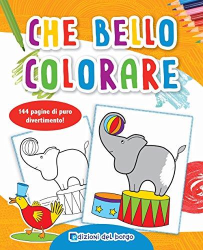 Libro Il Mio Album Da Colorare Animali Circo Stagioni Fiabe