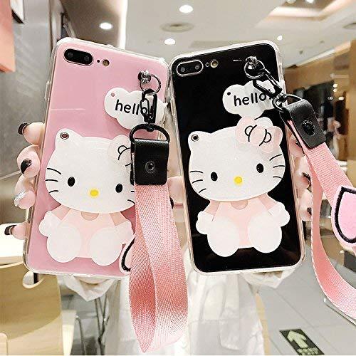 Hello Kitty für iPhone 6 (4.7 Zoll) Handy Cover Schutzhülle Handyhülle Cover Schutzhülle Handy Cover (rosa)