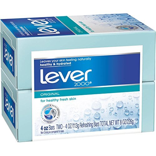 LEVER 2000 SOAP BATH BAR 2X4.5 OZ by Lever 2000