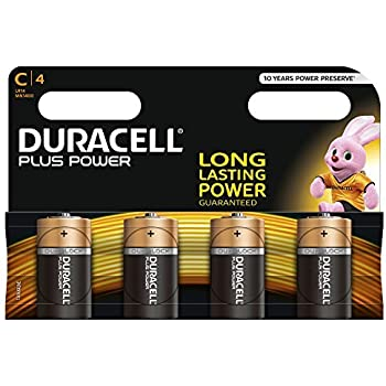 Duracell Baby C Lr14 Am2 4014 1 5v Alkaline Battery Amazon Co Uk