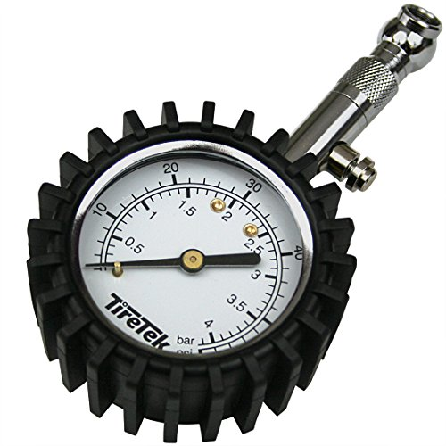 TireTek - Manometro per pneumatici con ampio quadrante