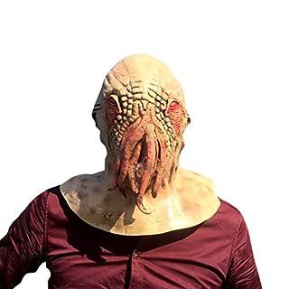 thematys Doctor Who Octopus Krake Maske - perfekt für Fasching, Karneval & Halloween - Kostüm für Erwachsene - Latex, Unisex Einheitsgröße