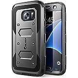 Samsung Galaxy S7 (2016 Release) Hülle, i-Blason [ArmorBox Serie] Case / Cover / Schutzhülle mit integriertem Displayschutz