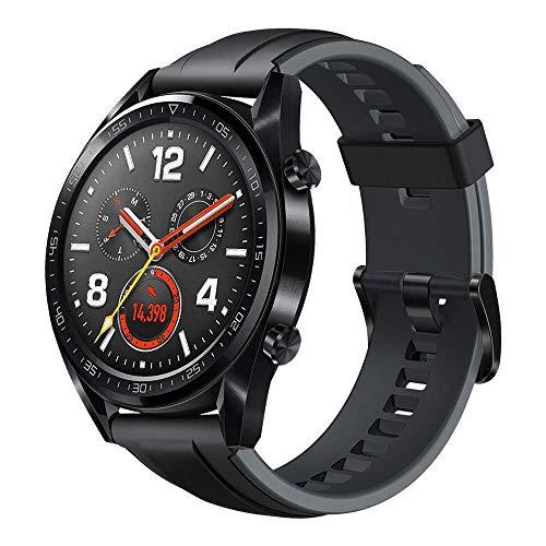 Oferta de Huawei Watch GT Sport - Reloj (TruSleep, GPS, monitoreo del ritmo cardiaco), Negro