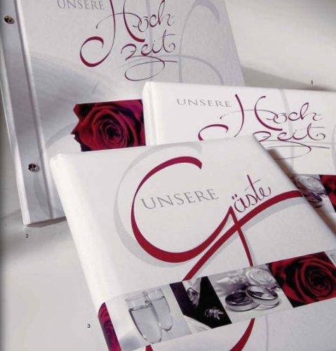 Goldbuch Wedding Hochzeitsgästebuch, Hochzeitsfotobuch und Schraubalbum im Set