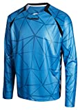 Hummel Kinder T-Shirt Tec X Goal Keeper Jersey, Methal Blue, 140-152, 04-301-8518
