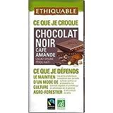 Scop ethiquable chocolat noir café amande bio 100g Envoi Rapide Et Soignée ( Prix Par Unité )
