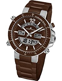 Jacques Lemans Unisex-Armbanduhr Milano Analog - Digital Silikon 1-1712W