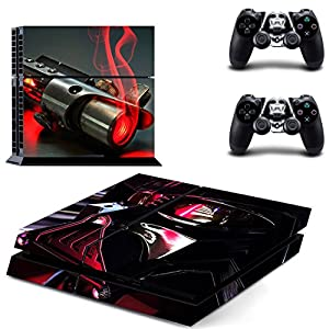 Star Wars Darth Vader Vinyl Skin Sticker PS4 / Xbox ONE for Console & 2 Controllers