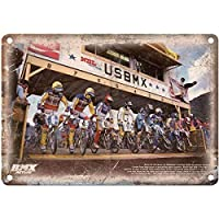 "VEHFA BMX Action BMX Race Brent and Brian Patterson 12"" X 18"" Vintage Look Reproducti B"
