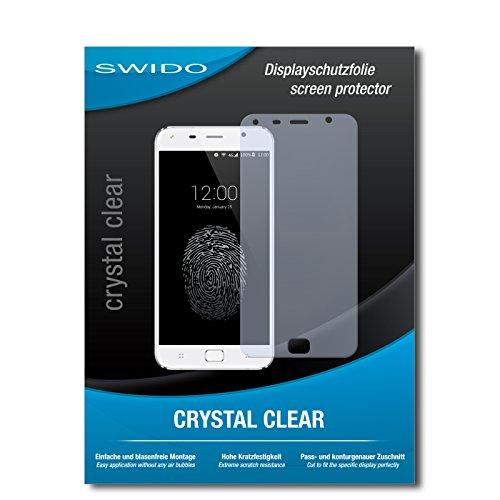 SWIDO Bildschirmschutz für UMI Touch [4 Stück] Kristall-Klar, Hoher Härtegrad, Schutz vor Öl, Staub & Kratzer/Schutzfolie, Bildschirmschutzfolie, Panzerglas Folie