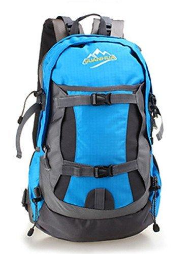 GXS 35L Outdoor Camping Rucksack Bergsteigen Taschen Wasserdicht Wandern Radfahren Paket grün - grün
