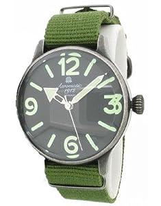 Reloj look Retro Militar Volador - Manillas gigantes -Aeromatic 1912 A1252 de Aeromatic 1912