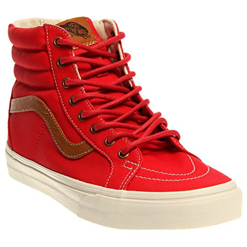 Vans Classic SK8-Hi Reissue Red Womens Trainers Red