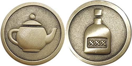 Die Fantastische Münze (Steampunk-Motto)