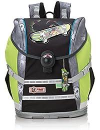 Mc Neill Schoolbag Set, Grau/Grün (Multicolour) - 9612165000