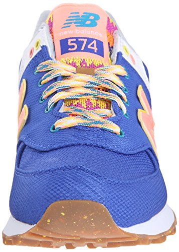 New Balance Wl574, Baskets Basses Femme Multicolore (PACIFIC)