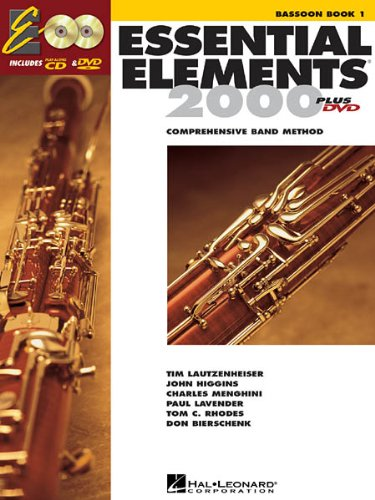 ESSENTIAL ELEMENTS 2000 BD 1 - arrangiert für Fagott - mit CD [Noten / Sheetmusic] Komponist: LAUTZENHEISER TIM + HIGGINS JOHN + MENGHINI CHARLES +