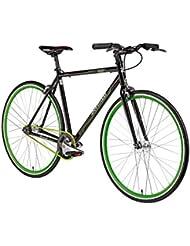Fixie 28 Zoll Singlespeed Retro Fahrrad 28' Fitnessbike Fixed Gear Rennrad Bike Flip Flop Nabe 52 cm