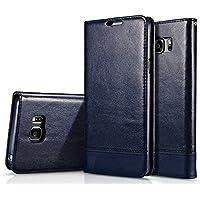 Nuovo Samsung nota 5 copertura, AIYIBEN portafoglio custodia in pelle PU copertura di pelle sintetica tipo portafoglio per Samsung nota 5
