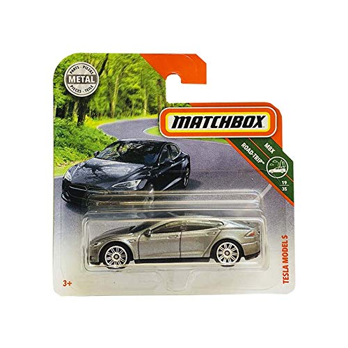 Matchbox Tesla Model S Mbx Road Trip 19/35 Part Metal