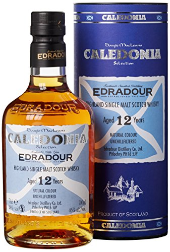 edradour whisky Edradour 12 Jahre Caledonia Single Malt Whisky (1 x 0.7 l)