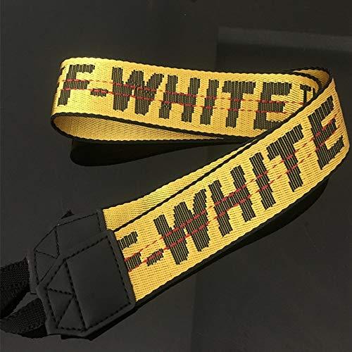 JMFHCD Kamera Schulter Gurt White Off-Weißen Gürtel