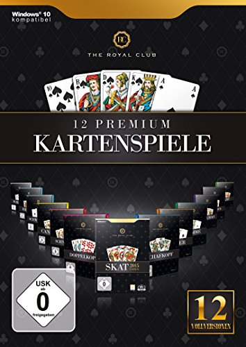 The Royal Club 12 Premium Kartenspiele