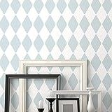 Harlequin dekorative Wandschablone - Schablonen für wände - Maler Schablonen