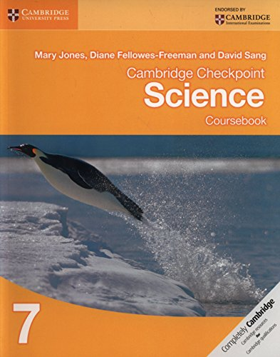 Cambridge checkpoint science. Coursebook. Per le Scuole superiori. Con espansione online: 7