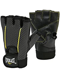 Everlast / EWG001 Gants fitness musculation Noir/jaune