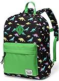 Kinderrucksack Jungen Dinosaurier Kinder Schule Rucksack Kleinkind Rucksack Buch Tasche mit Seitentaschen