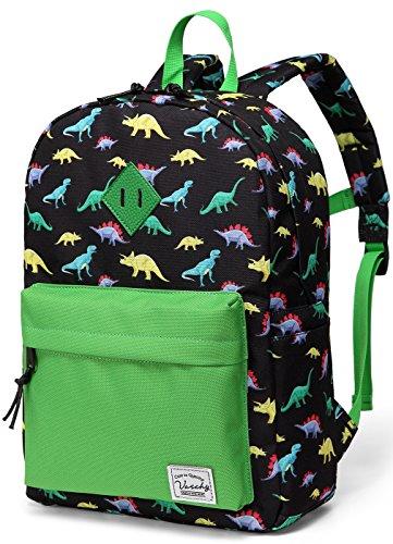 n Dinosaurier Kinder Schule Rucksack Kleinkind Rucksack Buch Tasche mit Seitentaschen ()