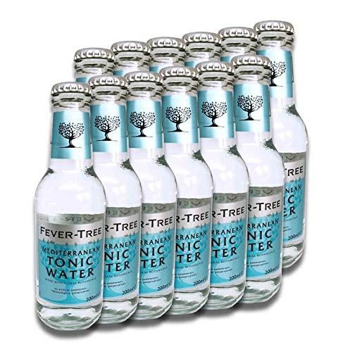 Fever-Tree Mediterranean Tonic Water 12 x 200ml (Water Tonic Dosen)