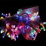 BABIFIS LED Lichter String Blinkende Lichter Im Freien Wasserdichte Starry Hochzeitsdekoration Lichter Weihnachten Bar Kupferdraht Kleine Lichter Lichterketten