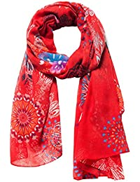 143776dc397 Amazon.fr   Rouge - Echarpes   Echarpes et foulards   Vêtements