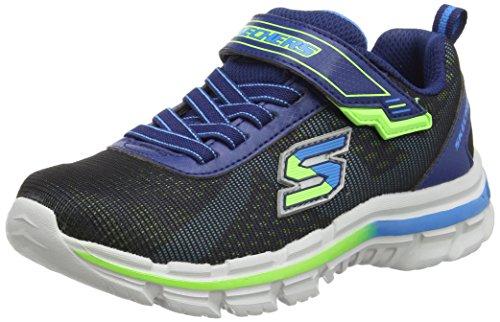 Skechers Nitrate - Brio, Chaussures de Sport Garçon